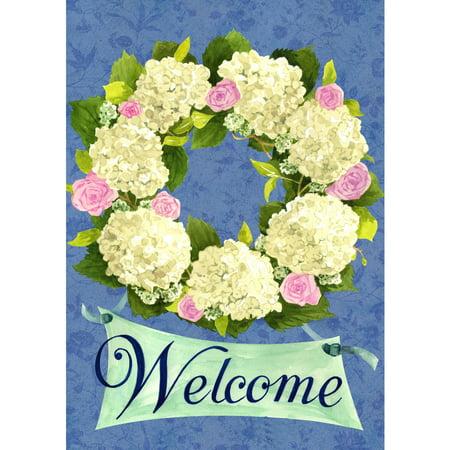 Hydrangea Wreath - Hanging Hydrangea Wreath