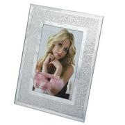 DecorFreak Mirror Finish Silver Photo Frame - 5 x 7 in.
