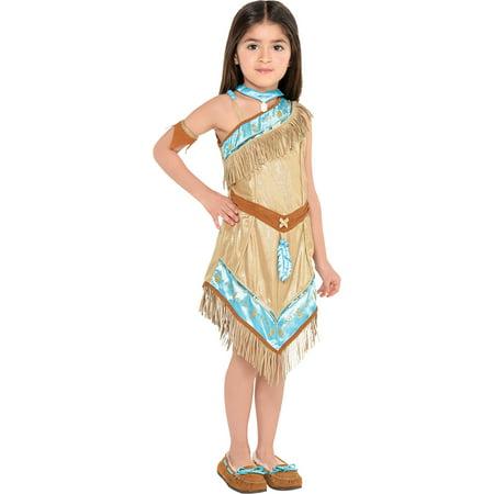Pocahontas Halloween Costume for Toddler Girls, 3-4T, Includes Accessories - Pocahontas Costume Australia