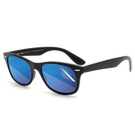 c81d678dd5 RIPCLEAR Sunglass Protectors for Ray-Ban RB4195 Wayfarer Liteforce (52mm) Lens  Protectors Sunglasses - Scratch Proof Crystal Clear - 2 pack - Walmart.com