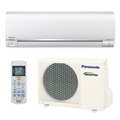 Panasonic� E12RKUA - 12,000 BTU 22.5 SEER EXTERioS E Wall Mount Ductless Mini Split Air Conditioner Heat Pump 208-230V
