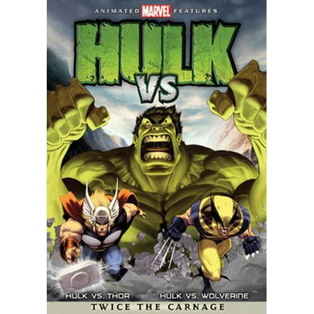 Hulk Vs. (DVD) (Hulk Vs Red Hulk Vs Blue Hulk)