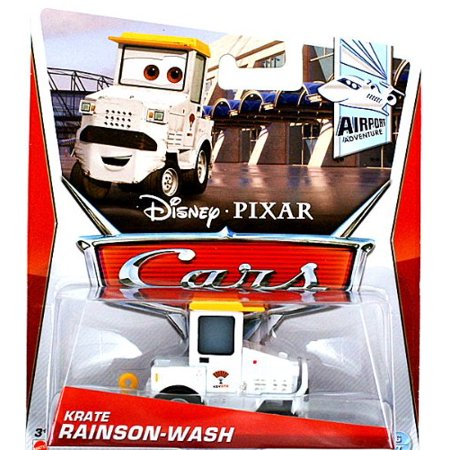 Disney Pixar Cars Airport Adventure 1:55 Scale Die Cast Vehicle Krate Rainson-Wash, Part of Disney Pixar Cars race team By Cars 2 Ship from US](Adventure Time Car Accessories)