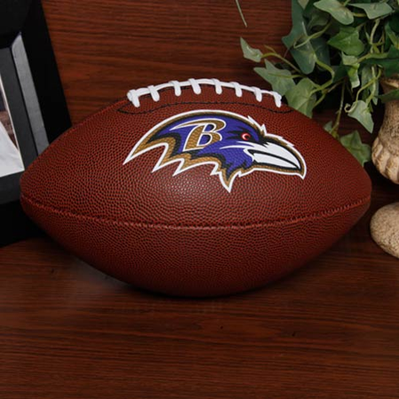 Baltimore Ravens Rawlings Game Time Official Size Football - No Size](Baltimore Ravens Football)