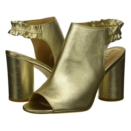 Katy Perry Women's The Jocelyn-Tumbled Metallic Heeled Sandal