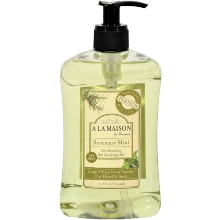 A la maison liquid soap for hand body rosemary mint for A la maison soap review