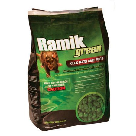 - Ramik 116339 Poison Brute 4 Pound Pack Nuggets Green Rat Mouse And Rodent Killer, Ramik 116339 Poison Brute 4 Pound Pack Nuggets Green Rat Mouse And Rodent Killer By GBW