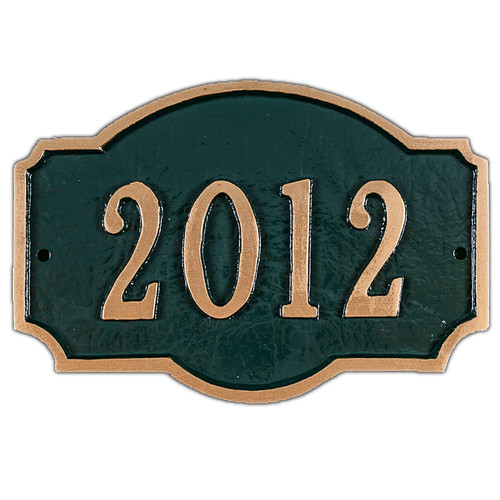 Montague Metal Products Inc. Petite Montague Address Plaque
