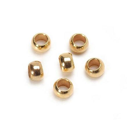 (Crimp Beads Gold 1.3Mm 1G)