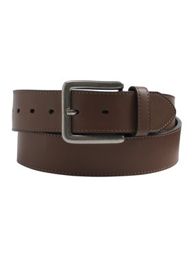 KingSize Men's Big & Tall Casual Stitched Edge Leather Belt