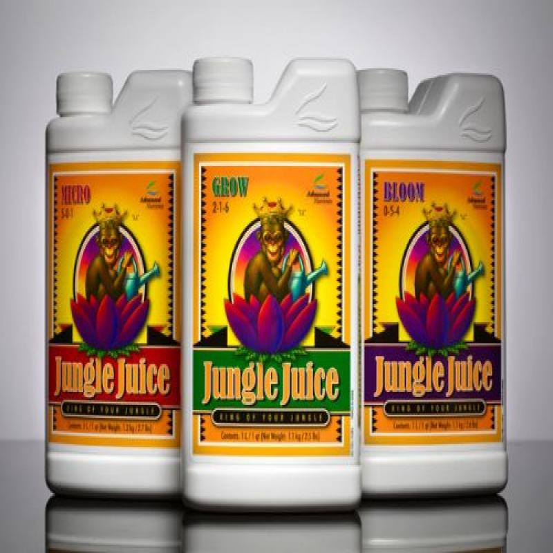Advanced Nutrients Jungle Juice Micro, Grow, and Bloom - ...