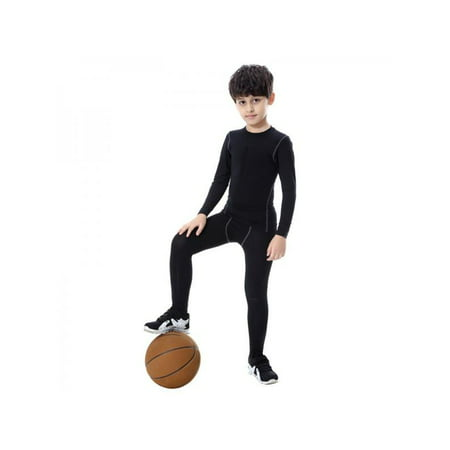 Quick-drying Boys Compression Base Layer Long Trousers ()