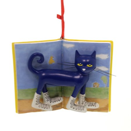 Pete The Cat Christmas.Holiday Ornaments Pete The Cat I Love White Shoes Christmas James Dean 4058318
