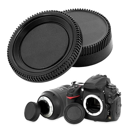Insten Camera Body Cap and Rear Lens Cover Cap For Nikon