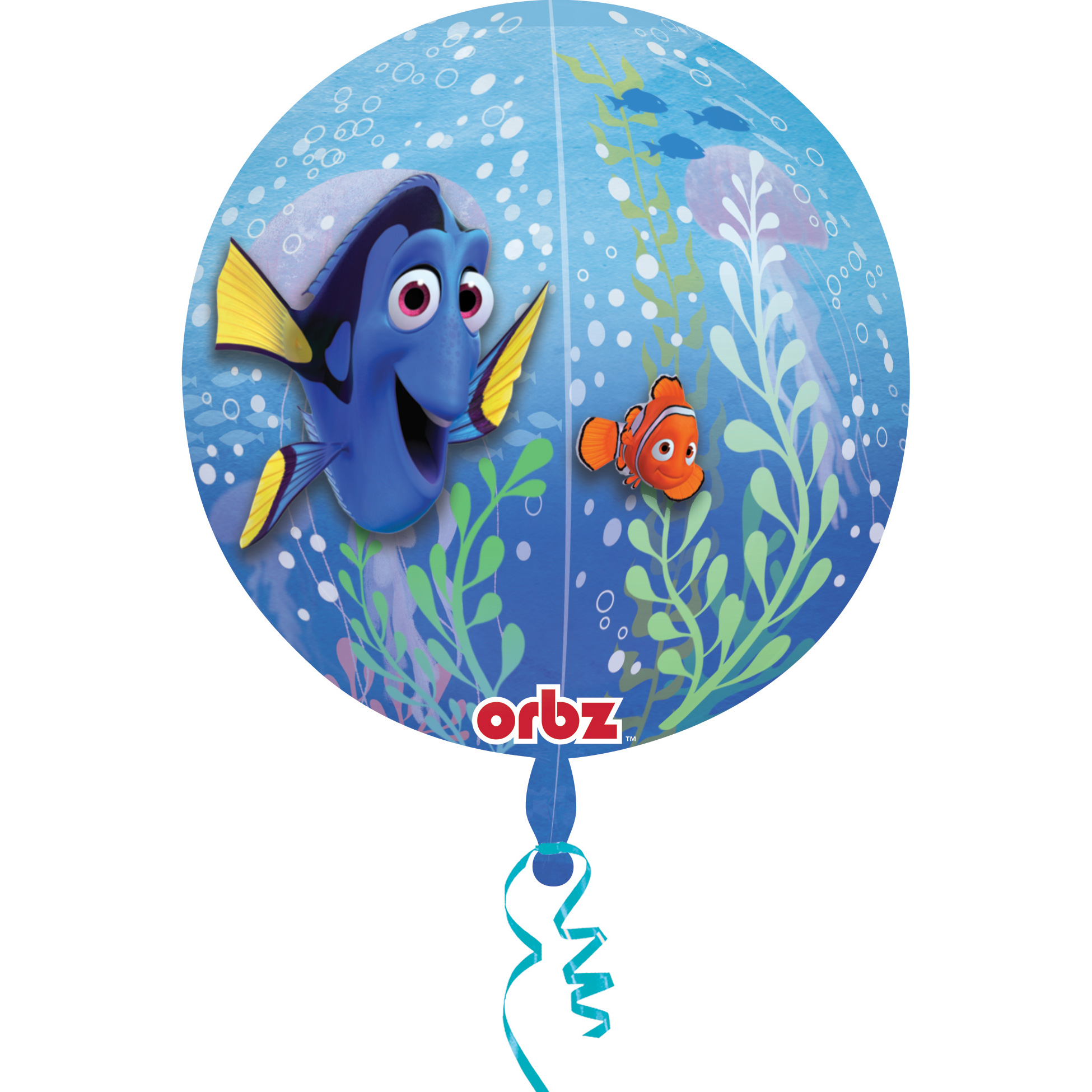 "Finding Dory 16"" Orbz Balloon (Each) - Party Supplies"