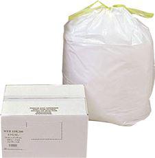 "Webster Industries HAB6DK50 Can Liner Trash Bags, 24"" X 2..."