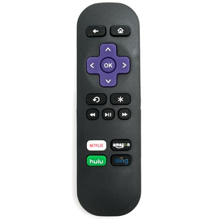 New Ir Replaced Remote Control For Roku 1 2 3 4 Hd Lt Xs Xd Player   Hulu Sling Amazon Key