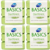 Dial Basics HypoAllergenic Soap, 10 Bars 3.2 oz Each