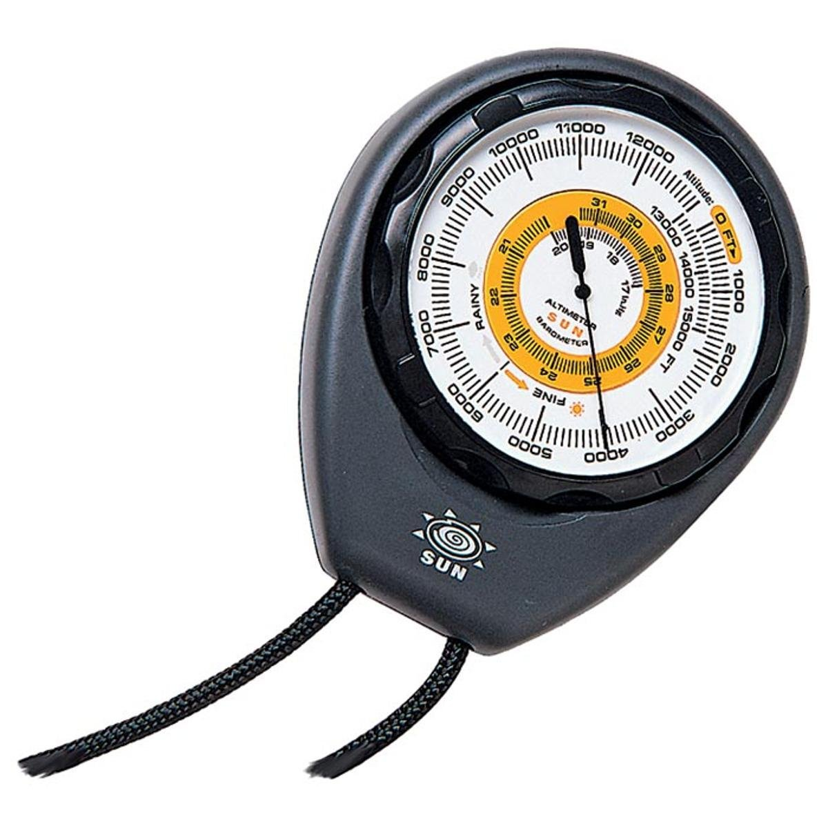 Altimeter and Barometer Includes Weather Trend Indicator Battery-free Analog Design Altitude in FEET, Handy altimeter... by