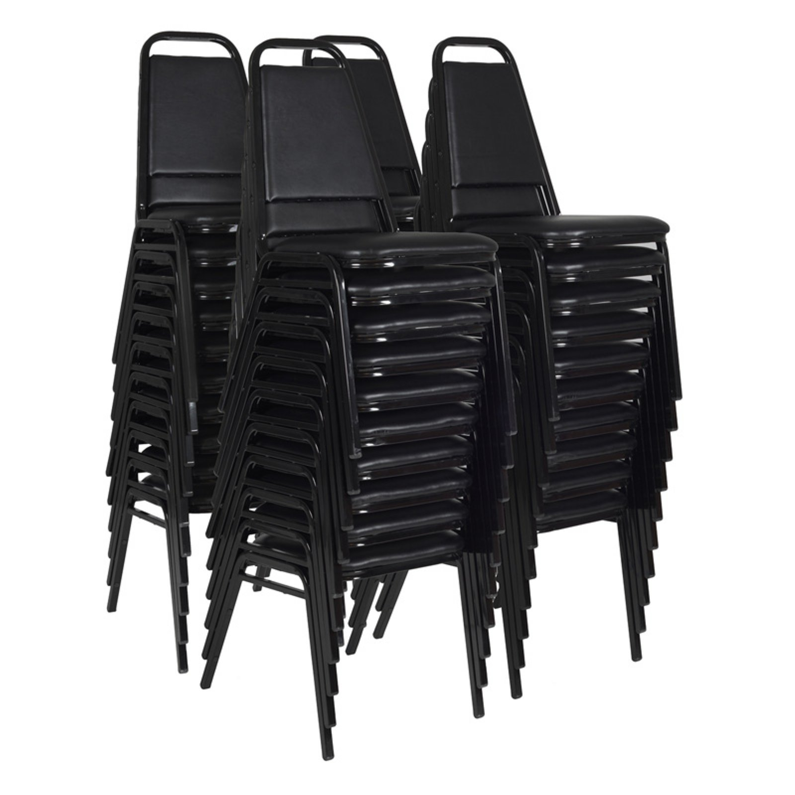 Regency Restaurant Stack Chairs, 40-pack