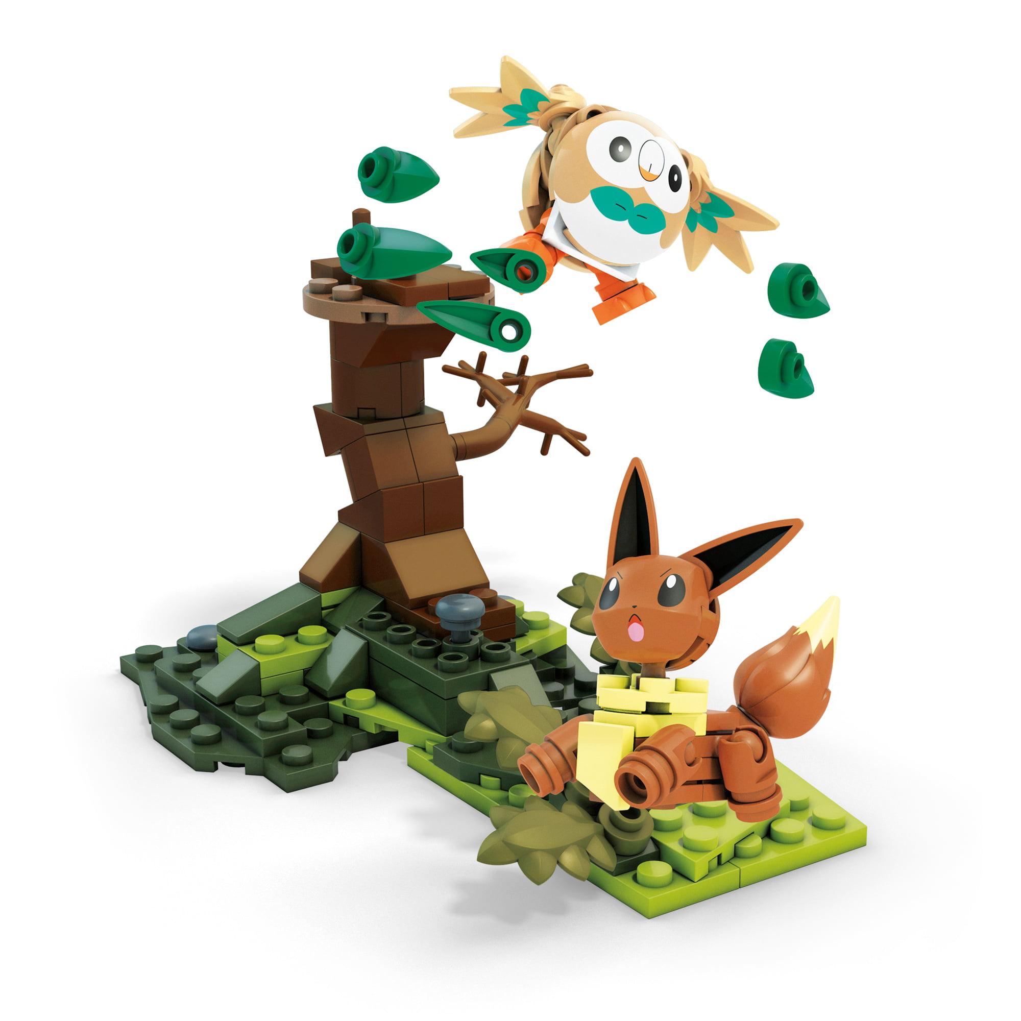 Mega Construx Pokemon Rowlet Vs. Eevee by Mattel