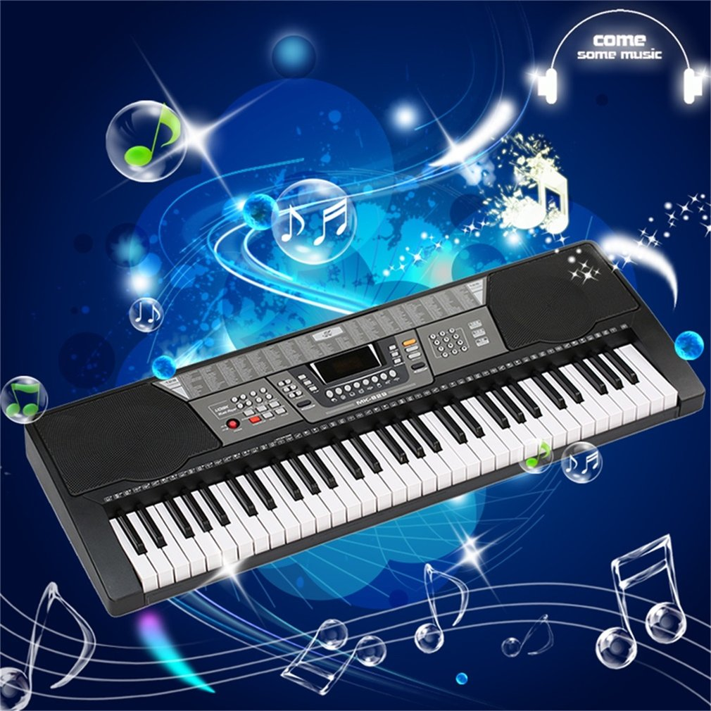 Electronic Piano 61 Keys Keyboard Piano Digital Music Electronic Keyboard Organ Keyboard Best Gift Electric... by