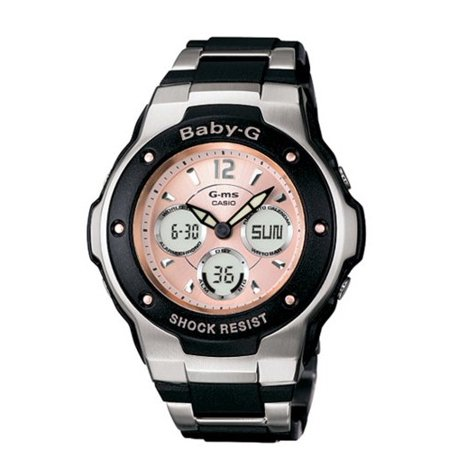 Women's MSG300C-1B Baby-G G-MS Cool and Tough Ana-Digi Watch