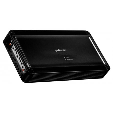 Polk PAD50005 Black 5 Channel Digital Power Marine Amplifier