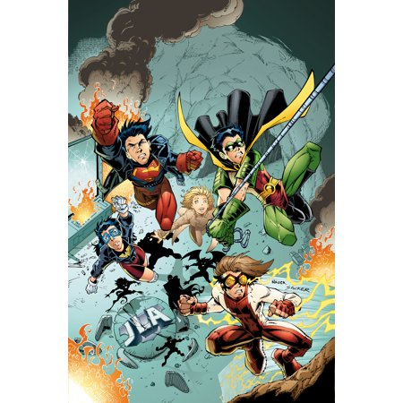 Young Justice Book Three](Young Justice Superboy)