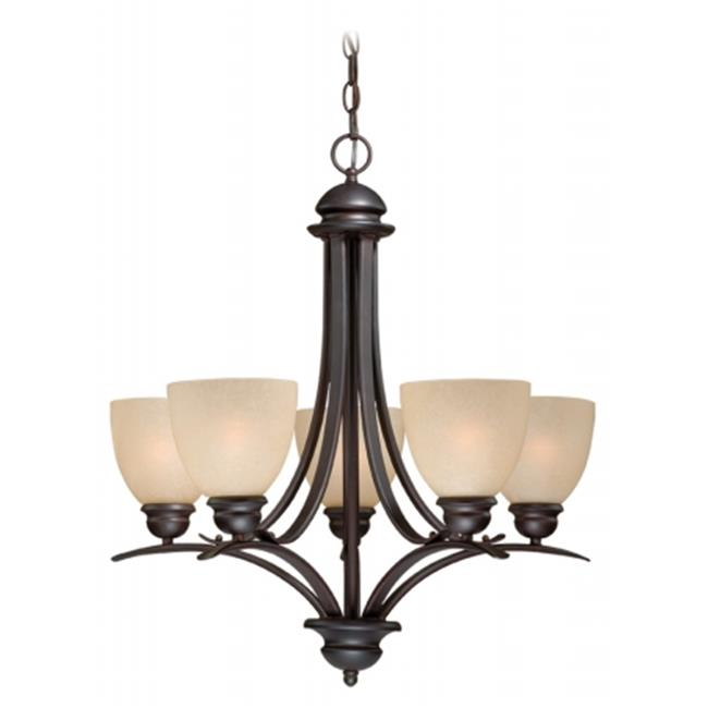 Avalon 5L Chandelier - Oil Burnished Bronze - image 1 of 1