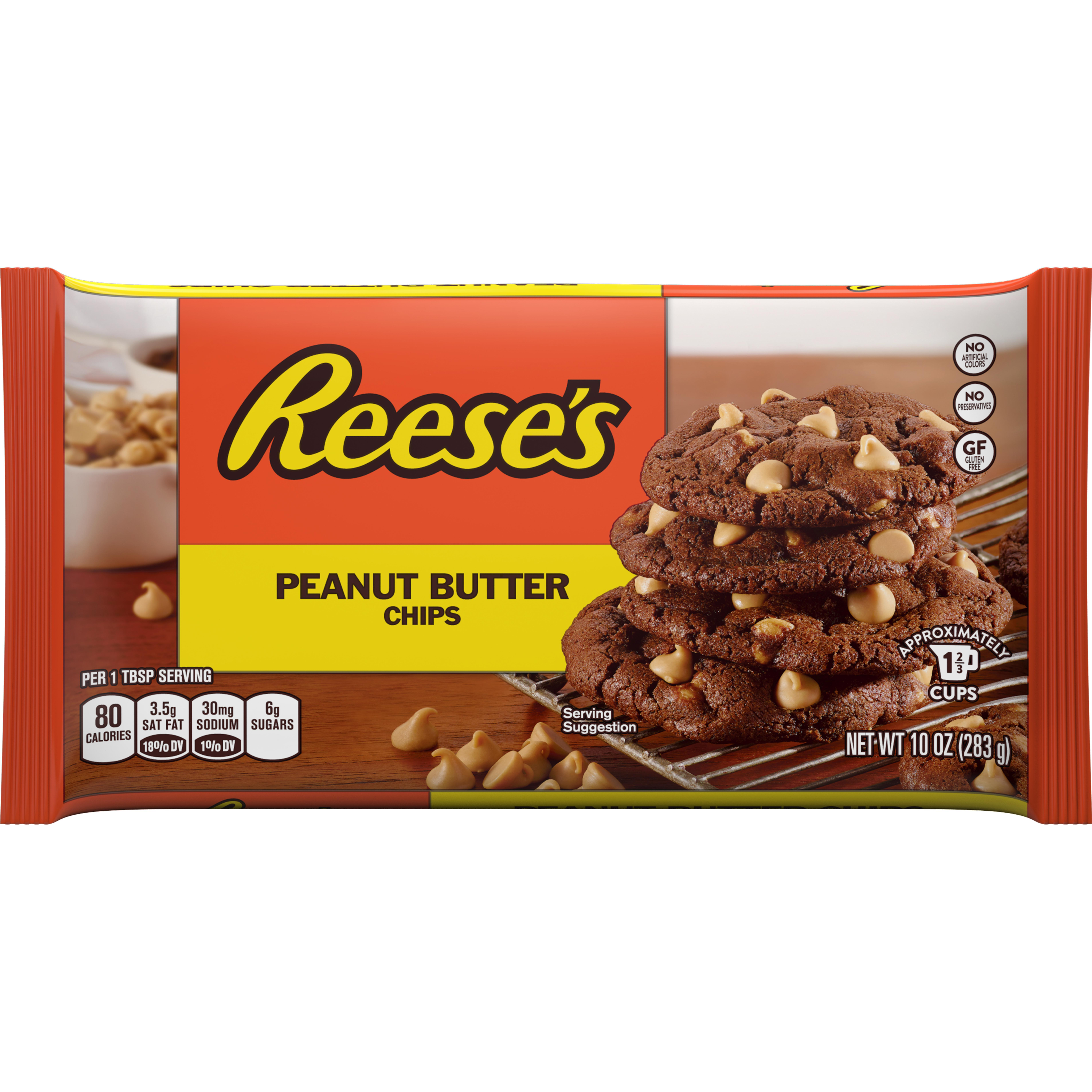 REESE'S Peanut Butter Chips, 10 Ounces