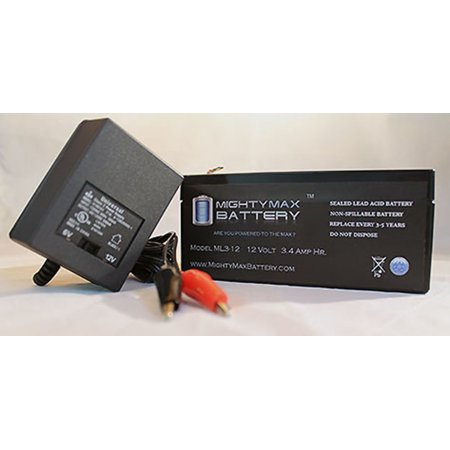 12v 3 4ah battery for altronix maximal11 12v charger. Black Bedroom Furniture Sets. Home Design Ideas