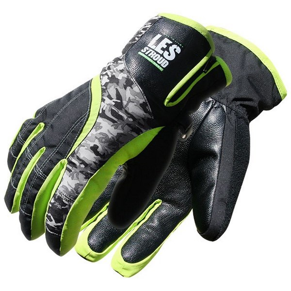 Bob Dale 14-9-3110-L Les Stroud Camo Ski Glove w Light Lined Thinsulate C100, Size L by Bob Dale