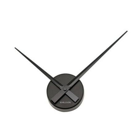 KARLSSON Wall Clock Little Big Time Mini - Big Wooden Wall Clock