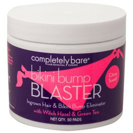 Completely Bare Bikini Bump Blaster Pads For Ingrown Hairs 50