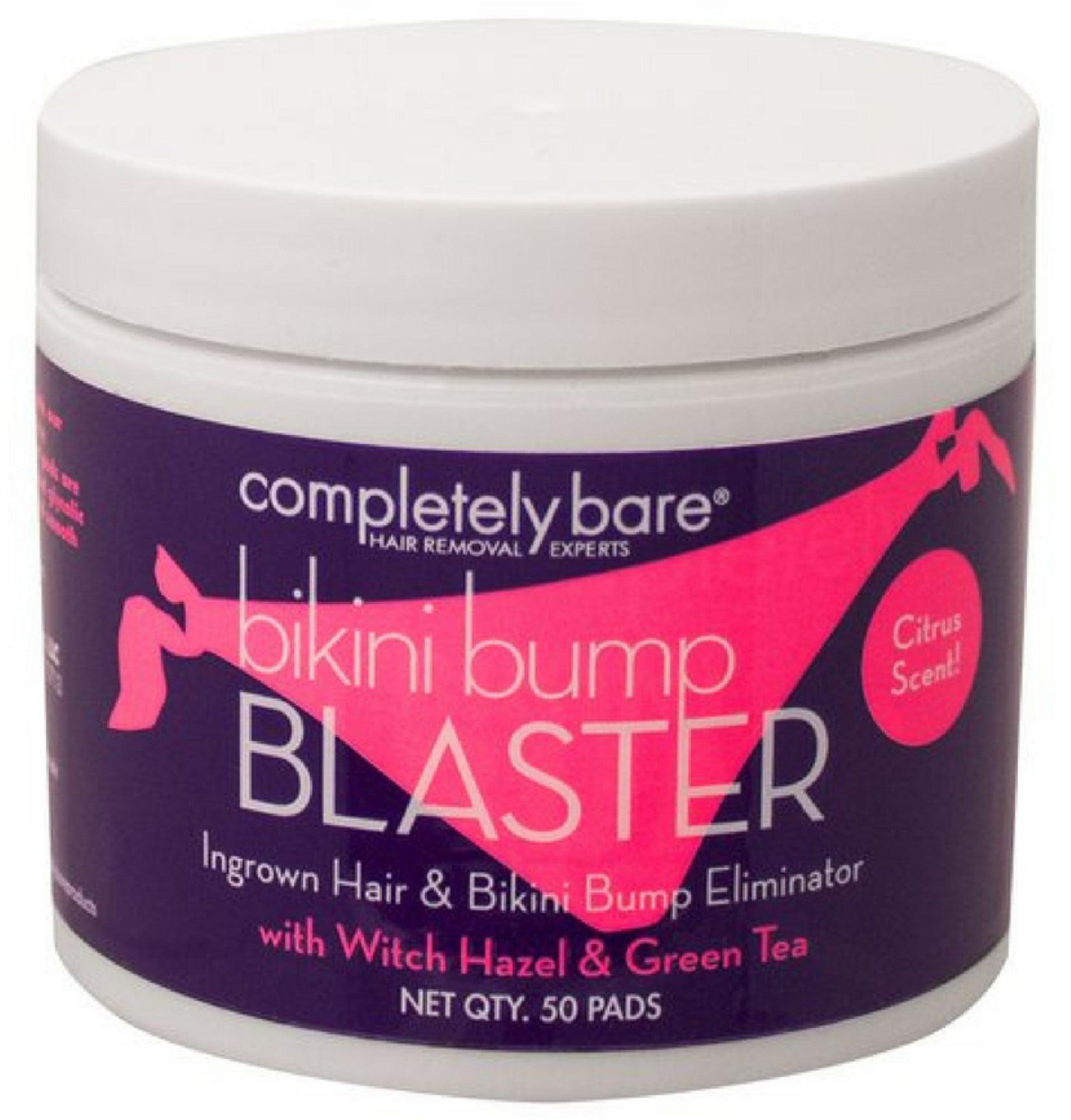 Completely Bare Bikini Bump Blaster Pads For Ingrown Hairs 50 ea
