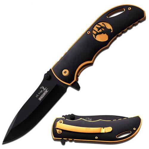 """Elk Ridge Spring-Assisted Knife, 4.5"""""""