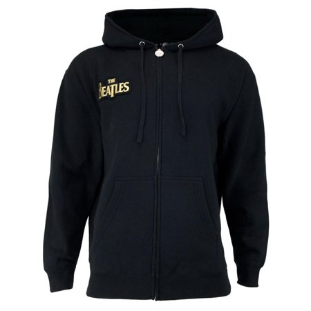 The Beatles - Gold Sgt Peppers Adult Zip Hoodie (Gold Sgt Pepper)