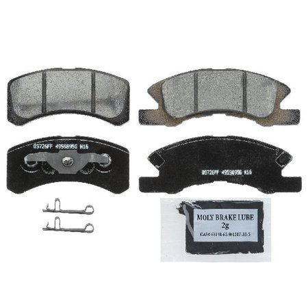 Go-Parts OE Replacement for 2017-2018 Mitsubishi Mirage G4 Front Disc Brake  Pad Set for Mitsubishi Mirage G4