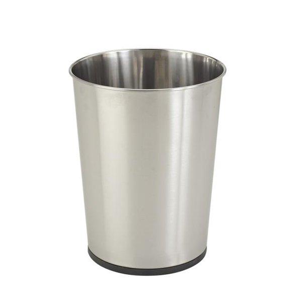 Bath Bliss 5l Capacity Bathroom Garbage, Stainless Steel Bathroom Garbage Can
