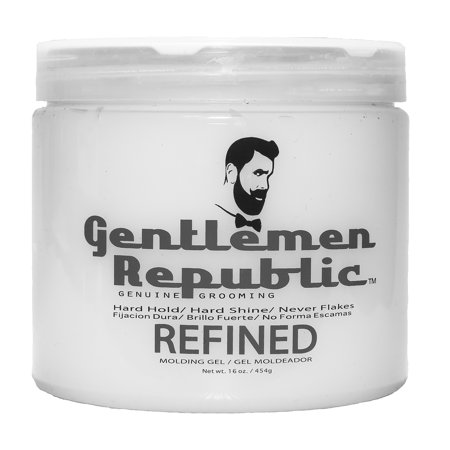 Gentlemen Republic Refined Molding Hair Gel, 16 Oz