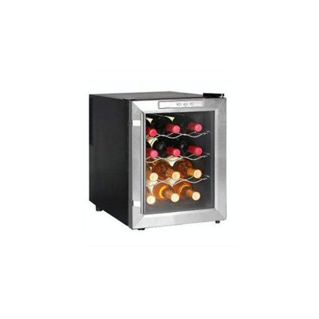 newair aw 121e 12 bottle thermoelectric wine cooler. Black Bedroom Furniture Sets. Home Design Ideas