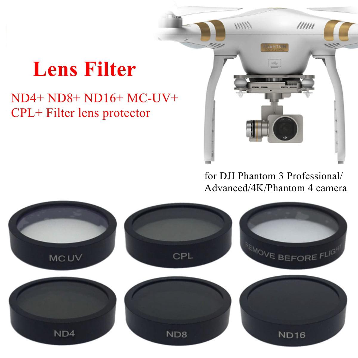 DJI Phantom 3//4 filtro UV