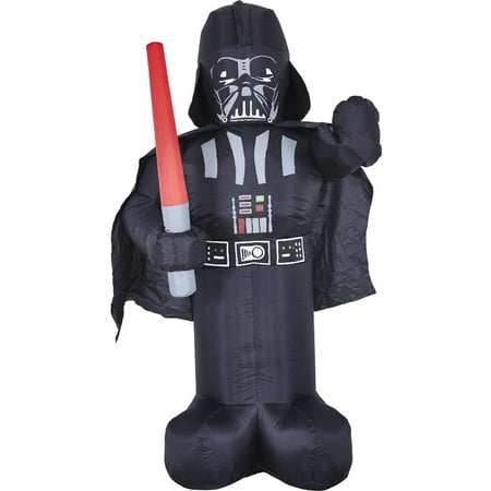 Star Wars Darth Vader Inflatable Prop Halloween - Decorations Halloween Cemetery Props