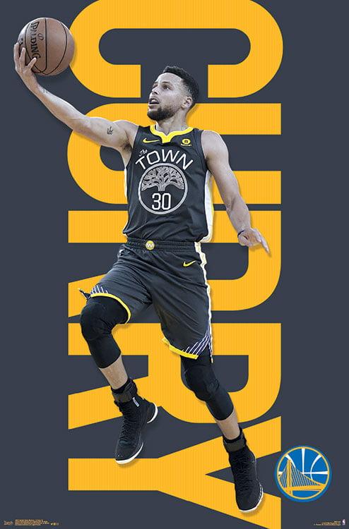 US SELLER Golden State Warriors Stephen Curry sports poster interior design