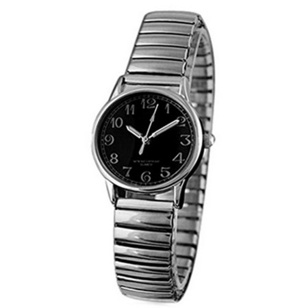 Stainless Steel Band Classic Design Stretch Band Vintage Look Watch-210