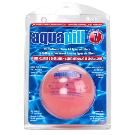 Cartridge Filter Cleaner (6 Pack AquaPill 7 Swimming Pool Filter Cartridge Cleaner &)
