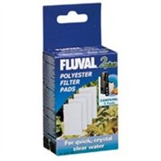"Fluval 2 ""Plus"" Water Polishing Pad 4 pack"