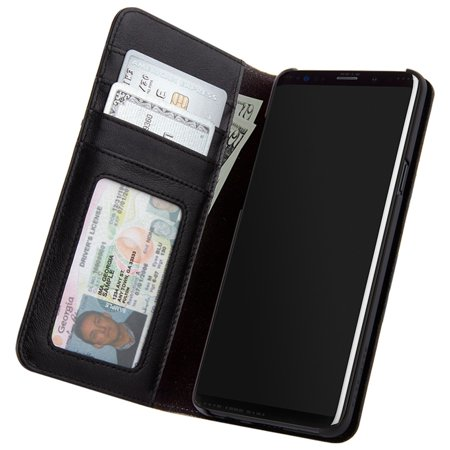 the best attitude ef7e1 6d4d8 Samsung Galaxy S9 Case-mate Black Folio Wallet case