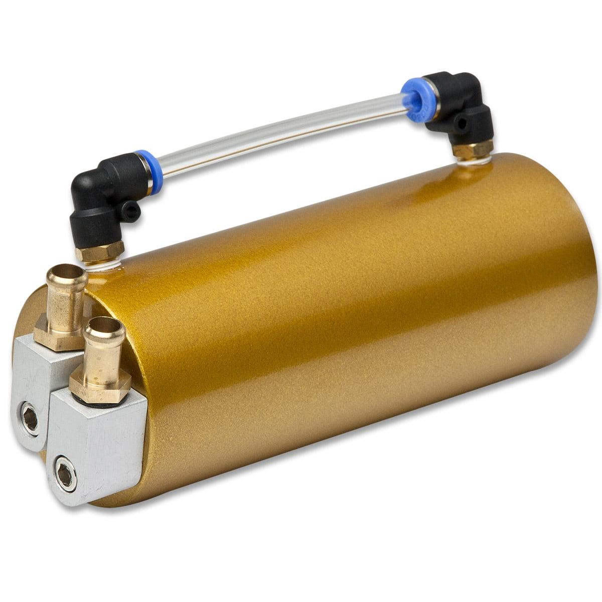 Univeral Aluminum Racing Oil Catch Tank - Gold Tank
